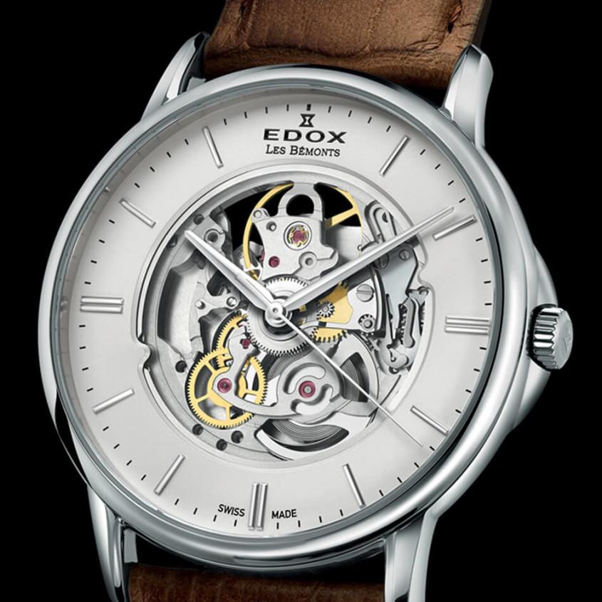 Edox skeleton horloge
