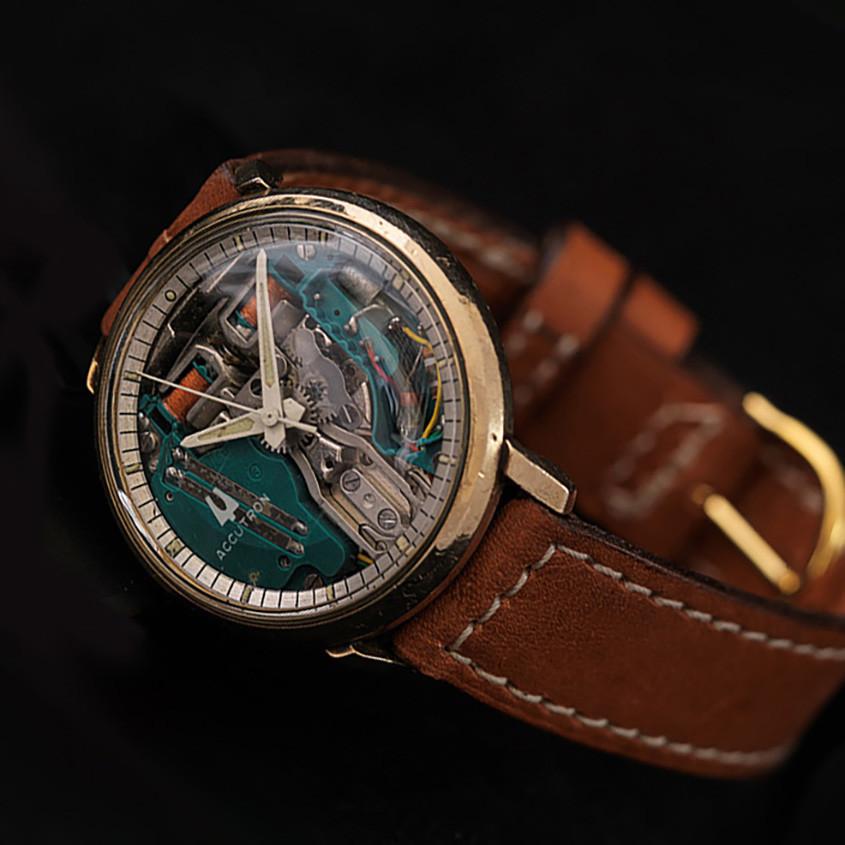 Foto vintage Accutron horloge