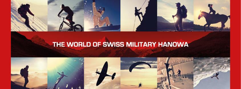 Merkbanner Swiss Military Hanowa