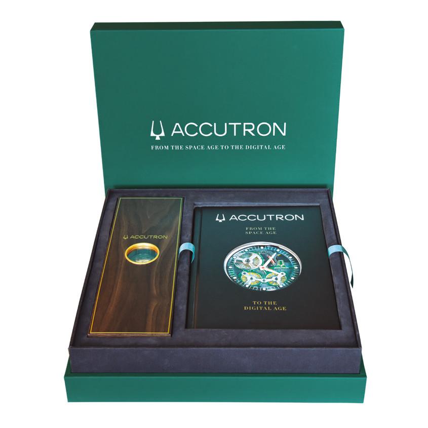Foto verpakking Accutron Spaceview