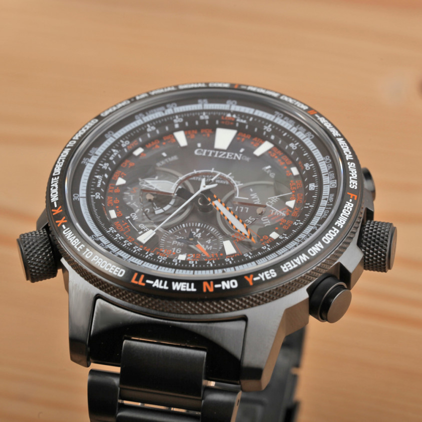 Citizen satellite wave GPS horloge