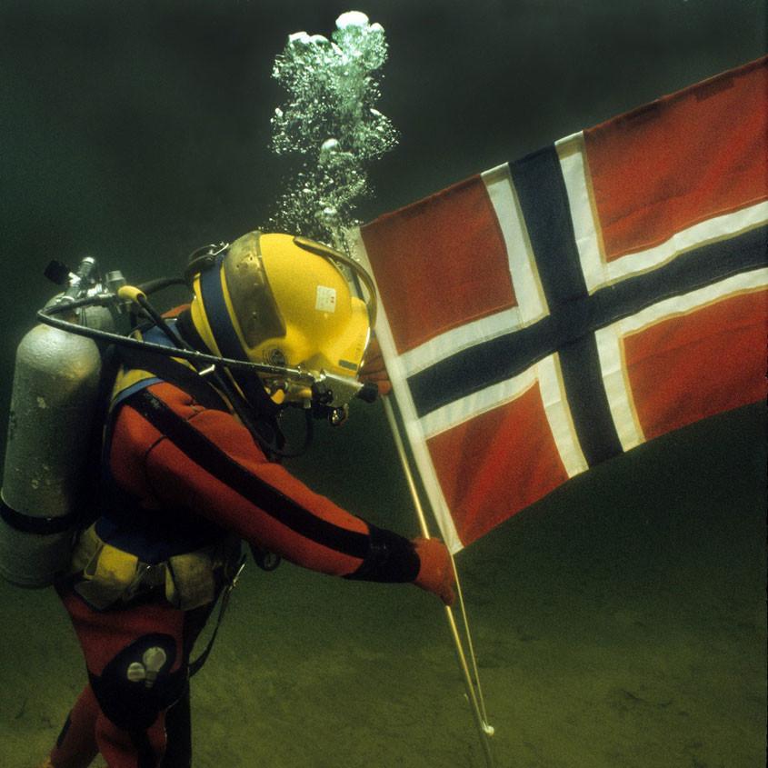 Foto Noordzee duikexpeditie