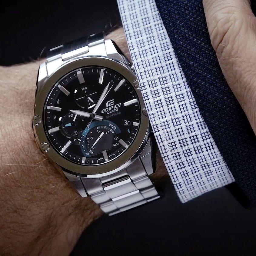 Foto Casio Edifice  EQB-1000D-1AER connected horloge