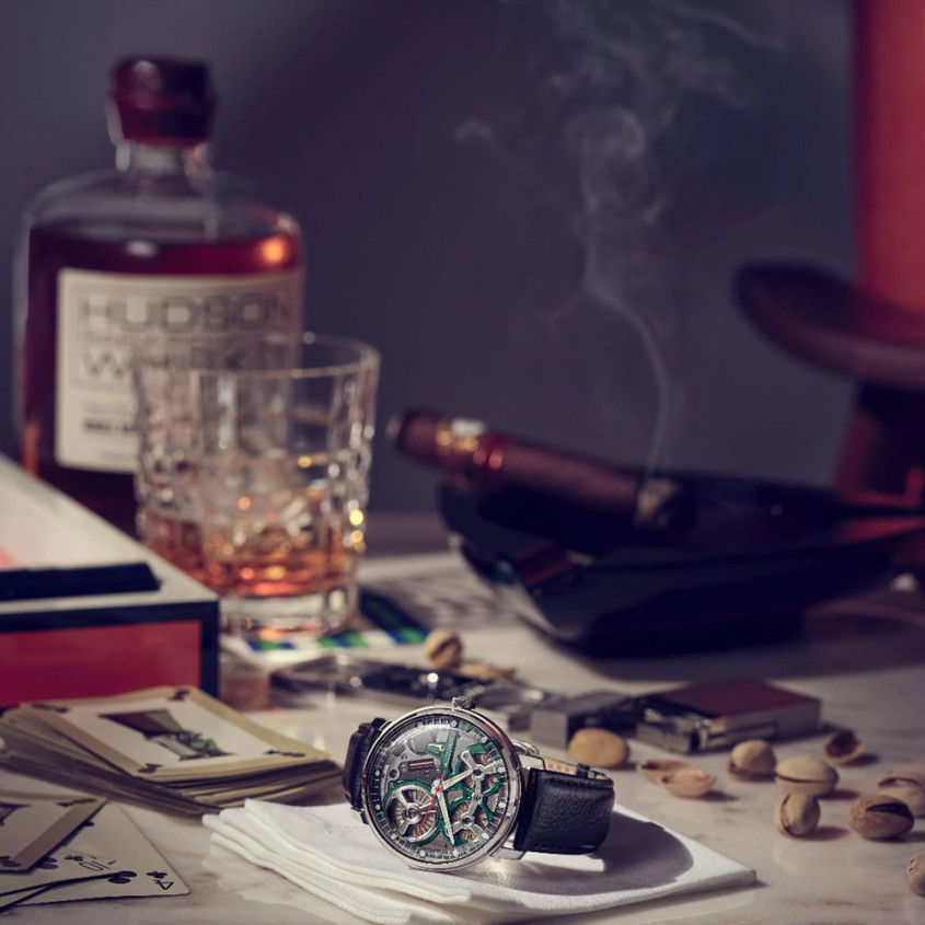 Sfeerfoto Accutron horloge