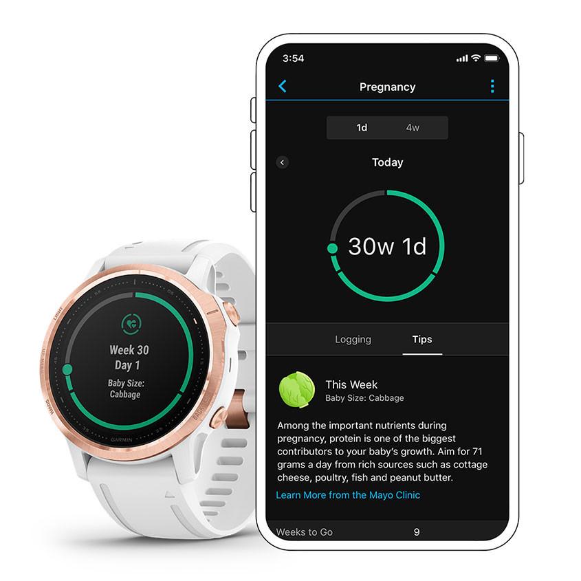 Garmin Fenix smartwatch met smartphone