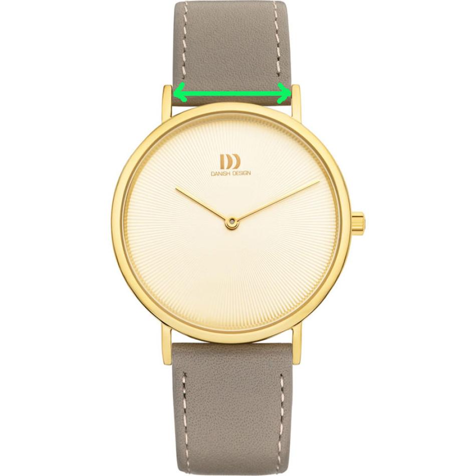 Voorbeeld van breedte horlogeband