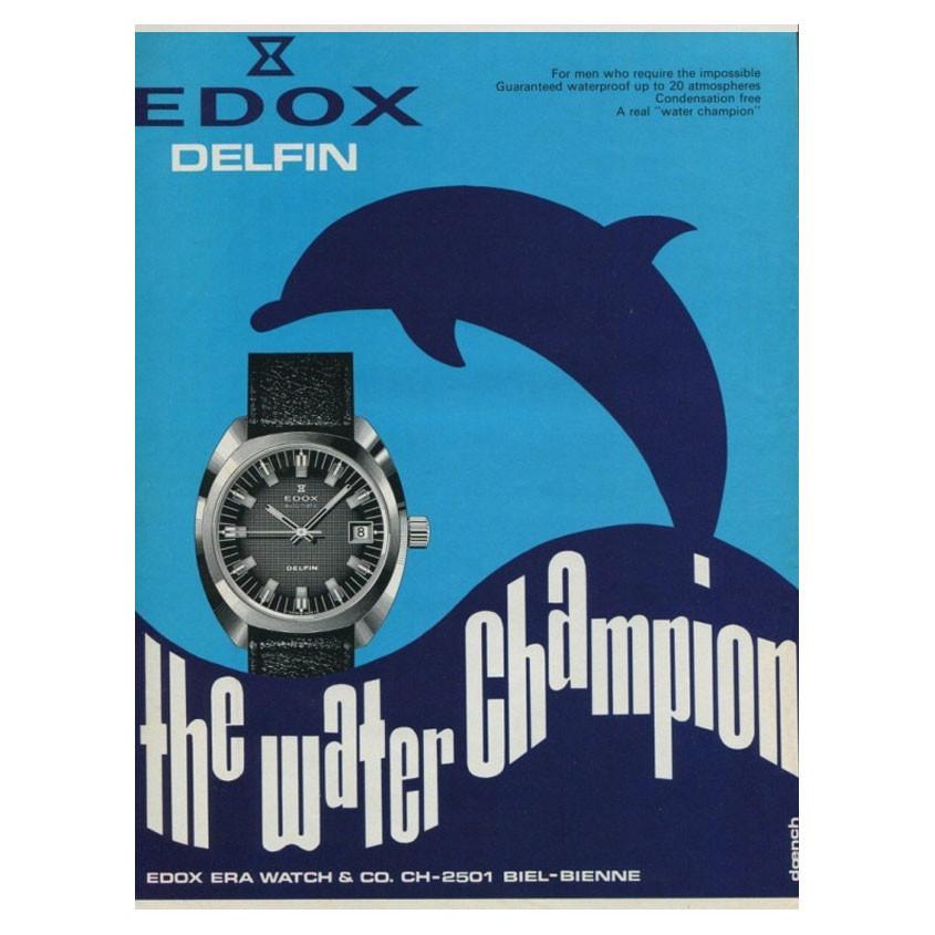 Foto vintage edox poster