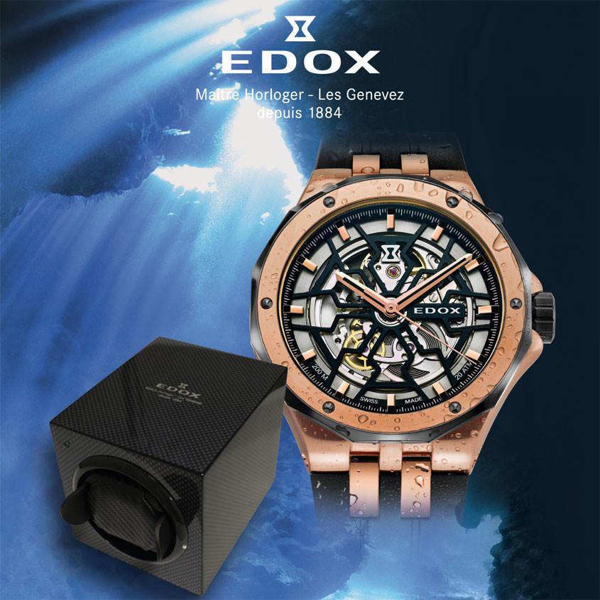 Edox watchwinder