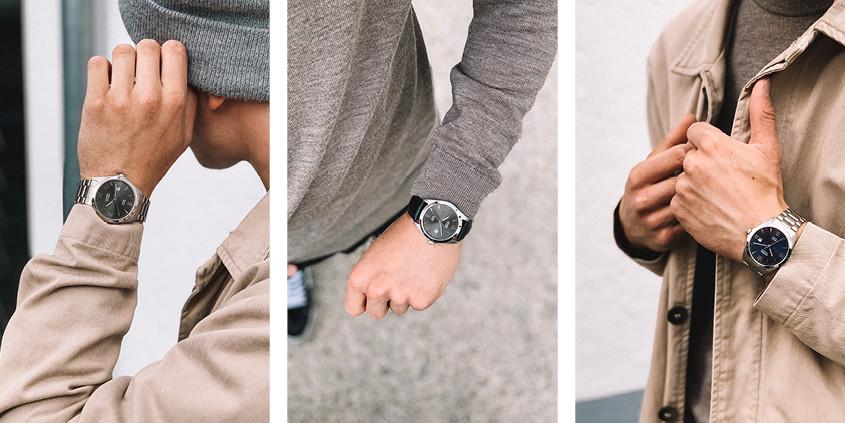 Afbeelding van model met Olympic horloge