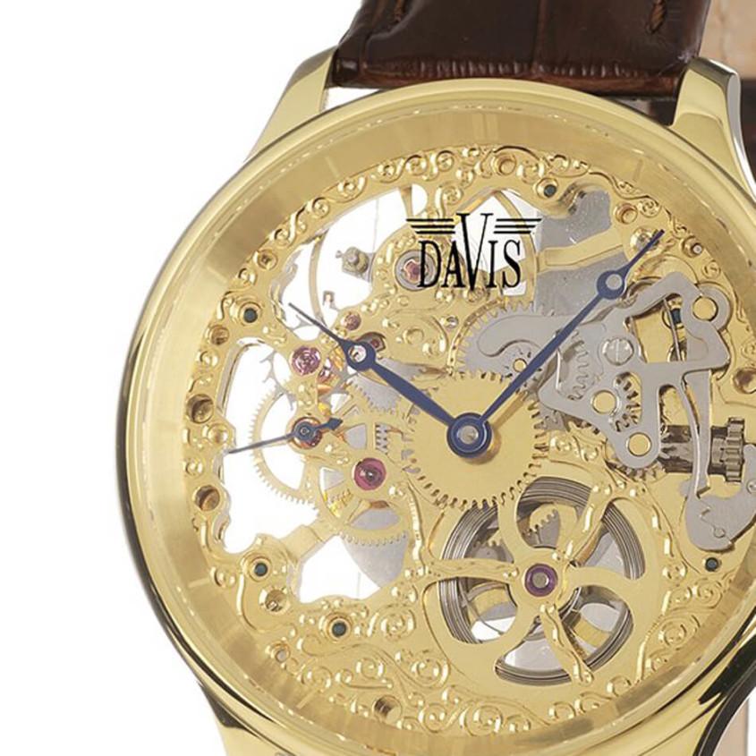 Davis skeleton horloge