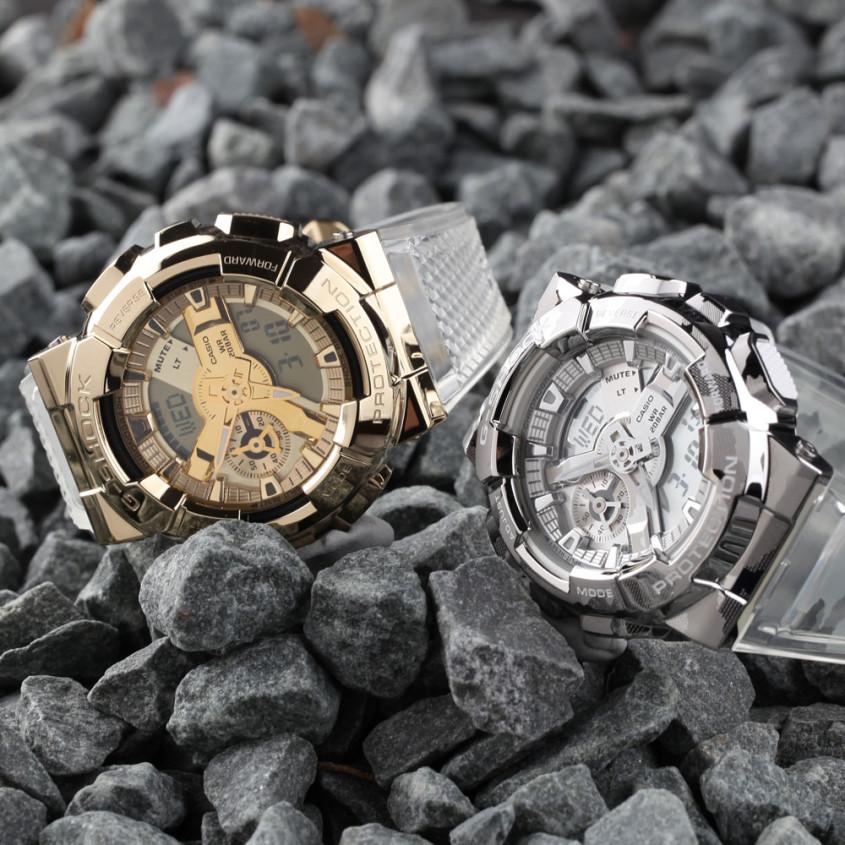 G-Shock metal covered horloges