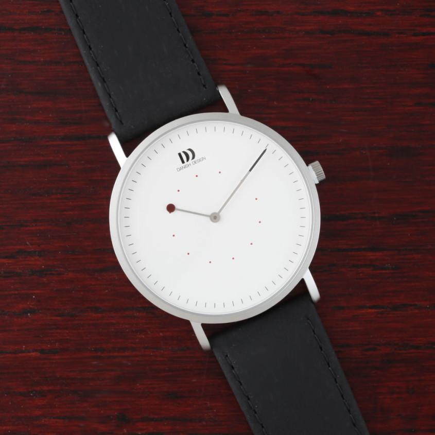 Danish Design horloge met zwarte band