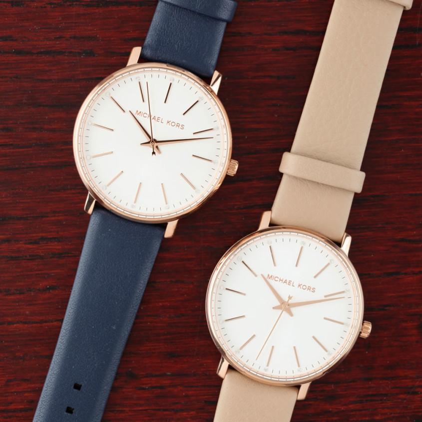 Michael Kors horloges met easy click banden