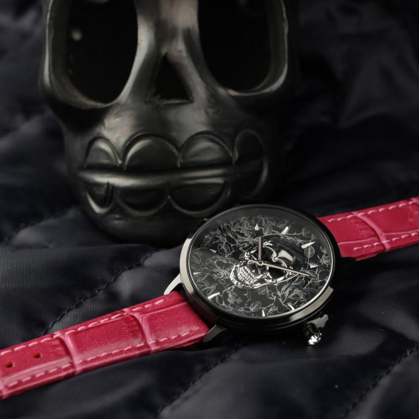 skull horloge