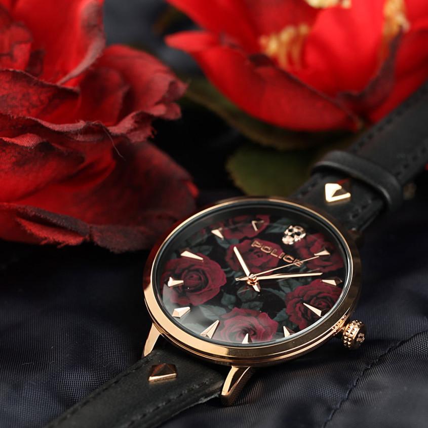 Bloemen horloge
