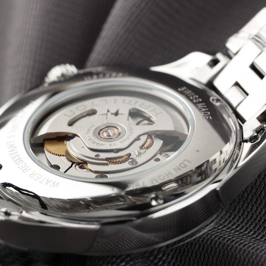 Foto uurwerk Hamilton Jazzmaster horloge