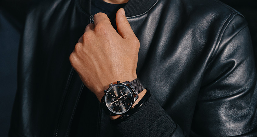 Wristshot Hugo Boss Skymaster
