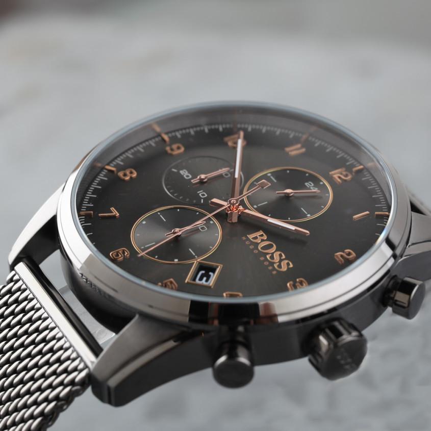 Detailfoto Hugo Boss Skymaster horloge