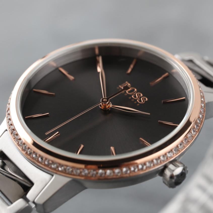 Detailfoto Hugo Boss Signature horloge