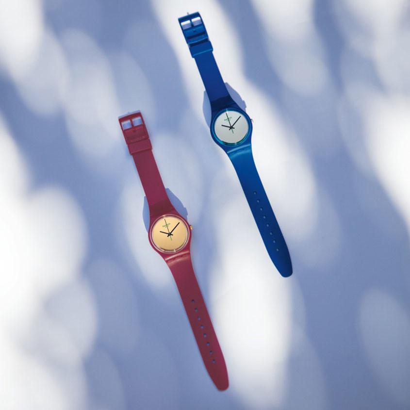 Foto Swatch 1983 Bio- reloaded horloges
