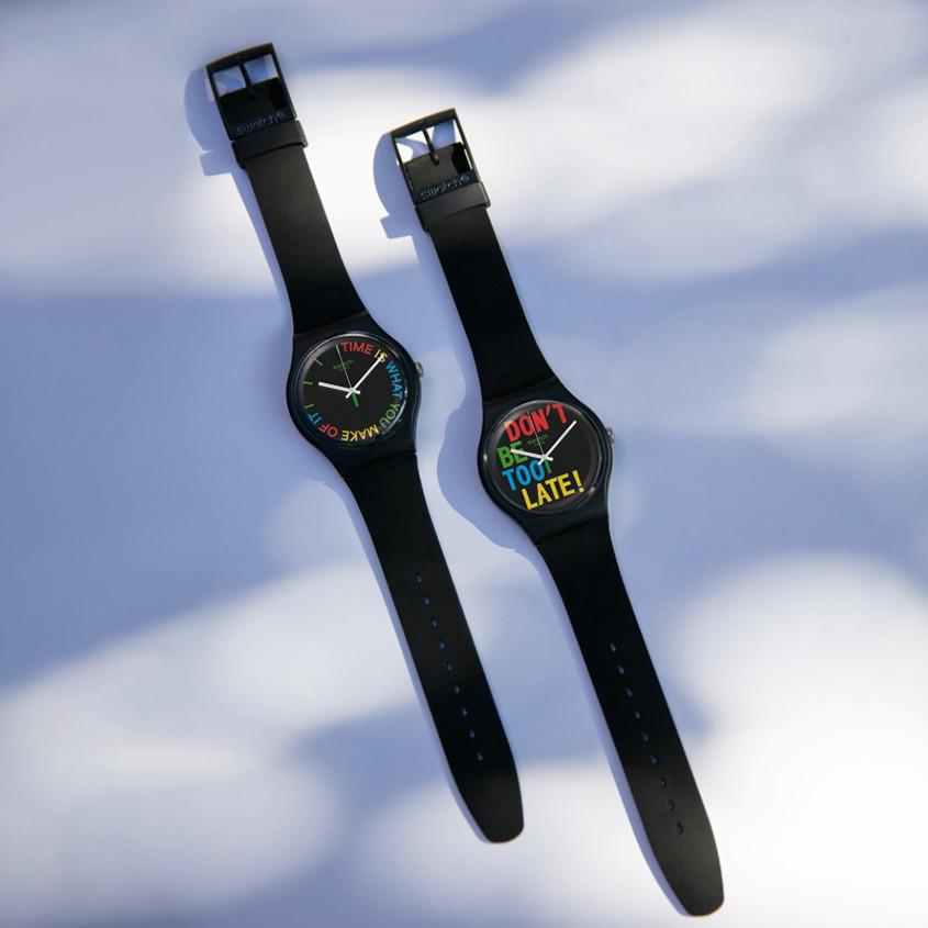 Foto Swatch 1983 Bio-Reloaded horloges