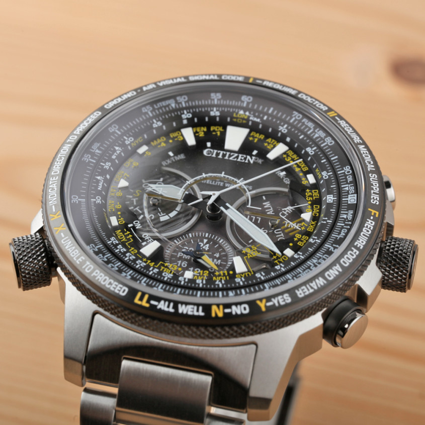 Citizen satellite wave GPS horloge