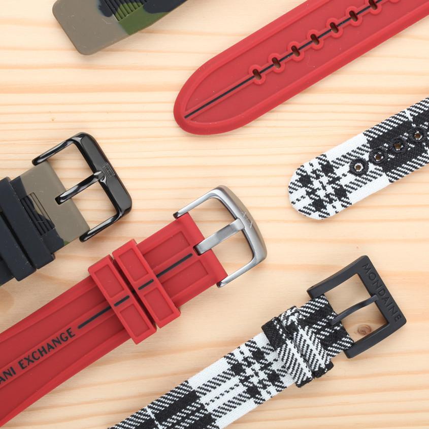 Foto horlogebanden met gesp
