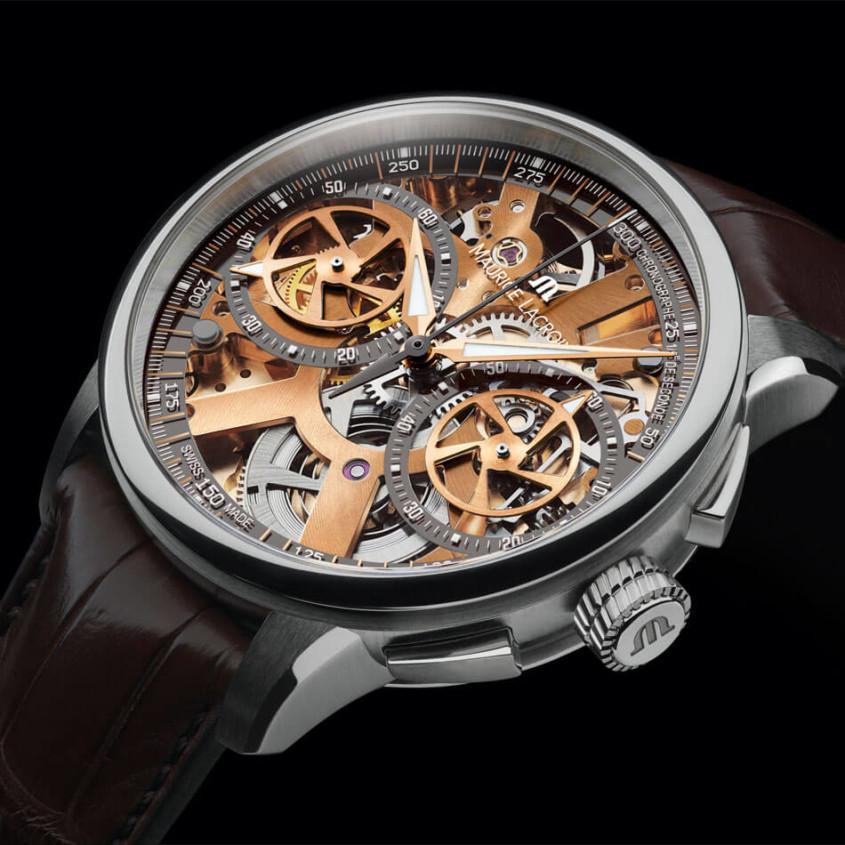 Maurice Lacroix skeleton horloge
