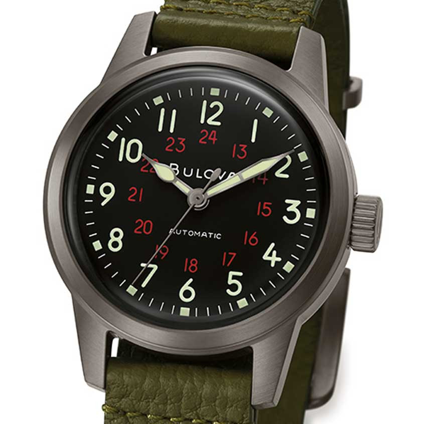 Detailfoto Bulova HACK-horloge