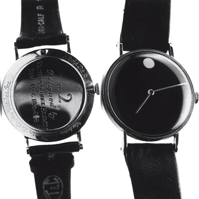Foto van het originele Museum dial horloge