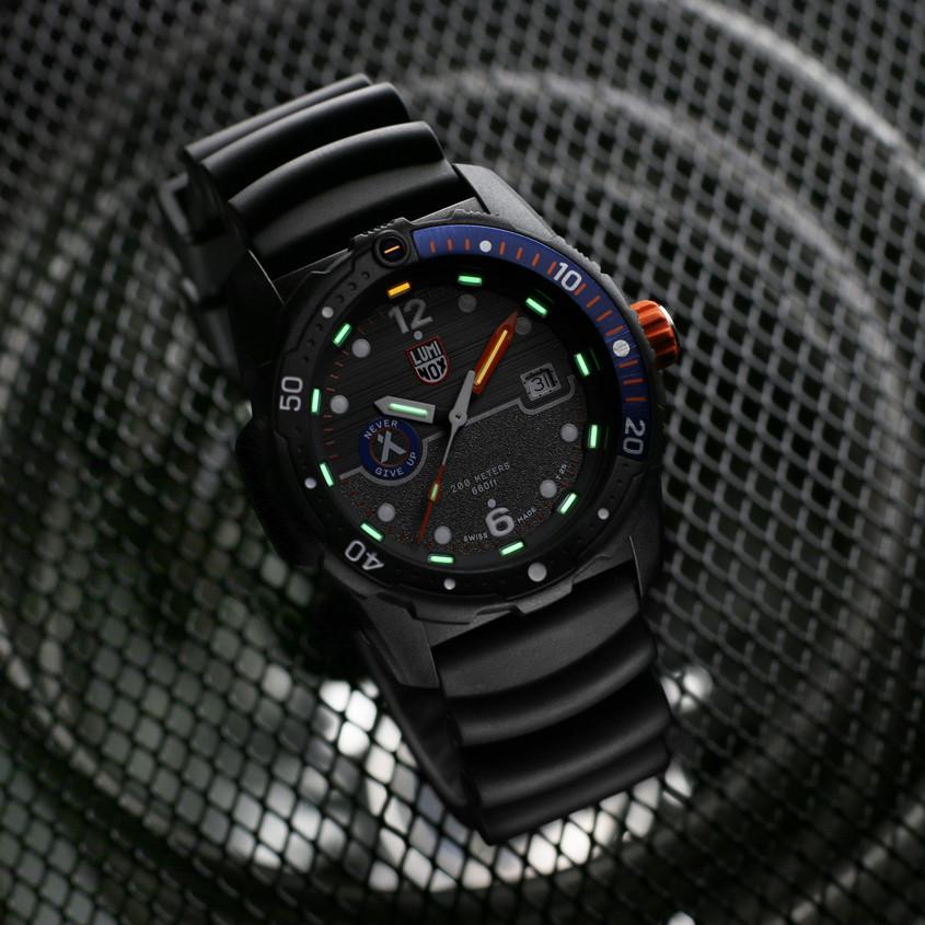 Afbeelding van Luminox horloge verlichting