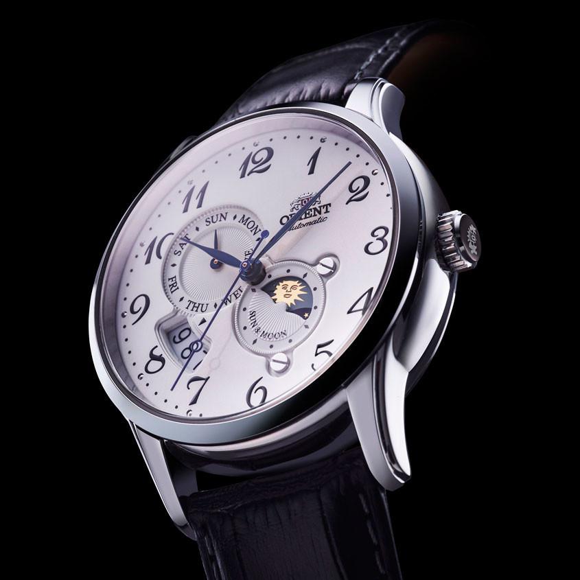 Sun and moon Orient horloge