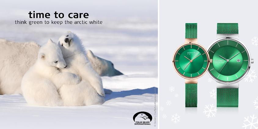 Banner voor Bering Charity horloges
