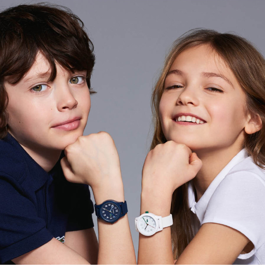 Kids met Lacoste horloges