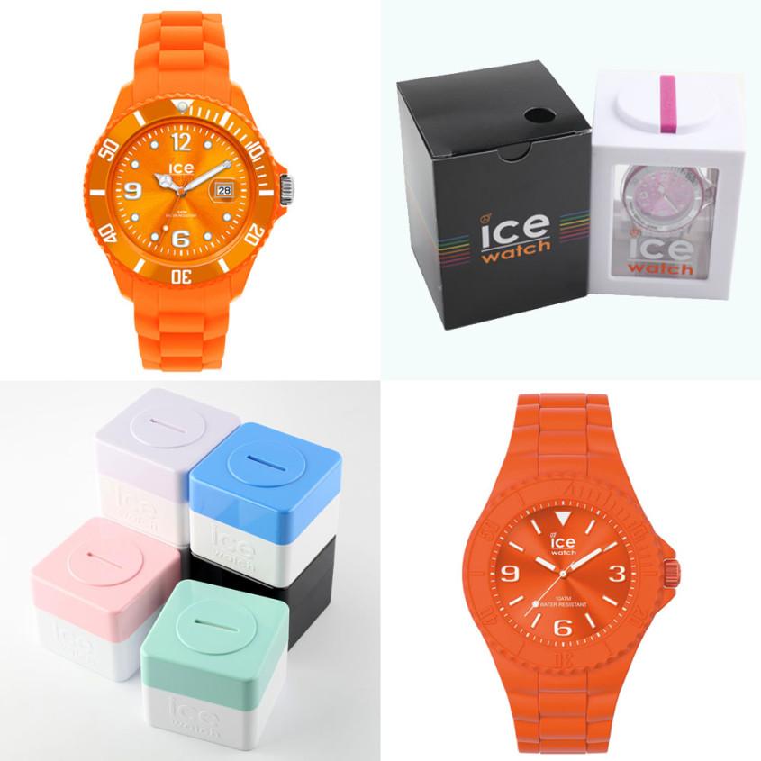 Oud-en nieuw silicone horloge van Ice-Watch