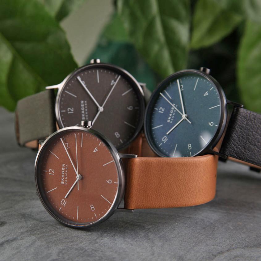 Skagen Aaren Naturals horloges
