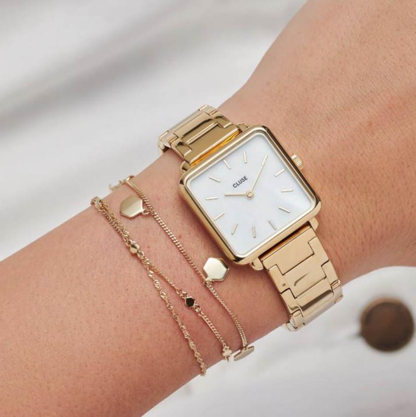Cluse Tetragone horloge