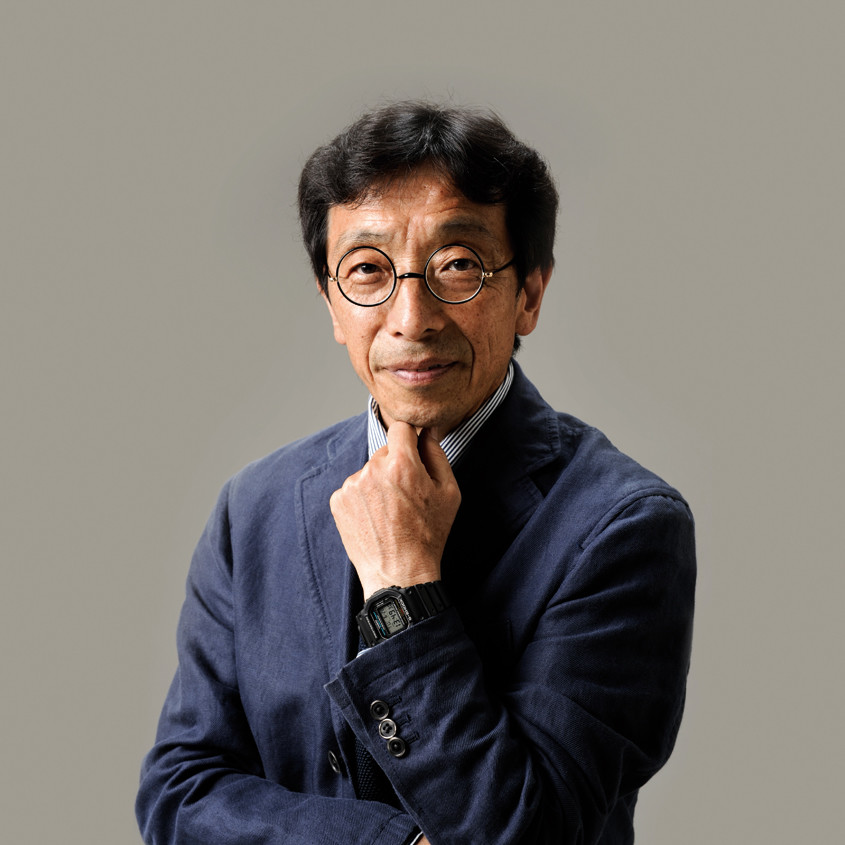 Portretfoto van casio ontwerper Kikuo Ibe