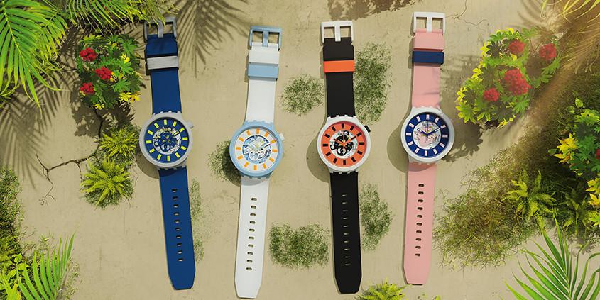 Nieuwe collectie Swatch Big Bold Bioceramic horloges