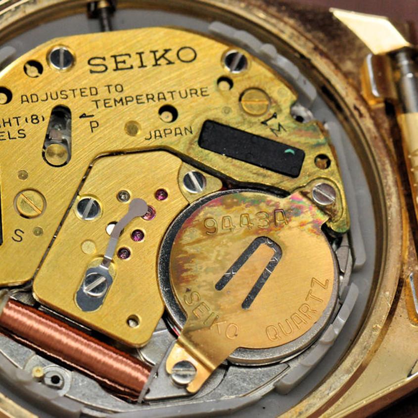 Foto beschadigd horloge uurwerk