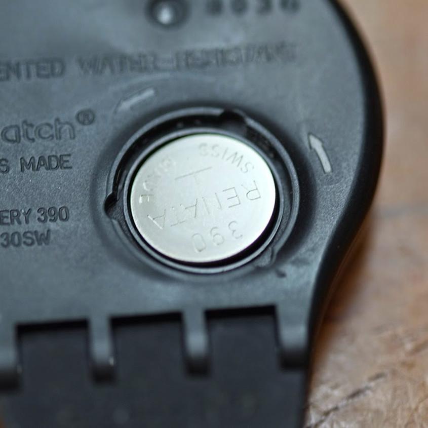 Foto batterij Swatch