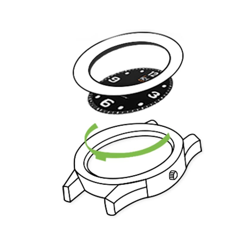Afbeelding opbouw solar horloge