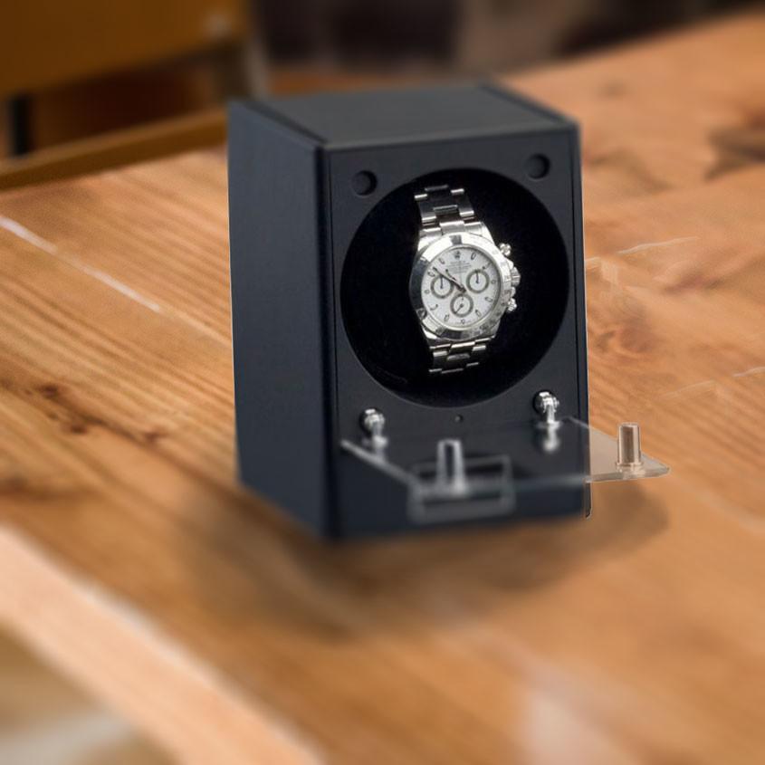 Foto horloge in automatische opwinder