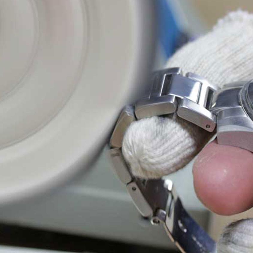 Foto Polijsten horlogeband