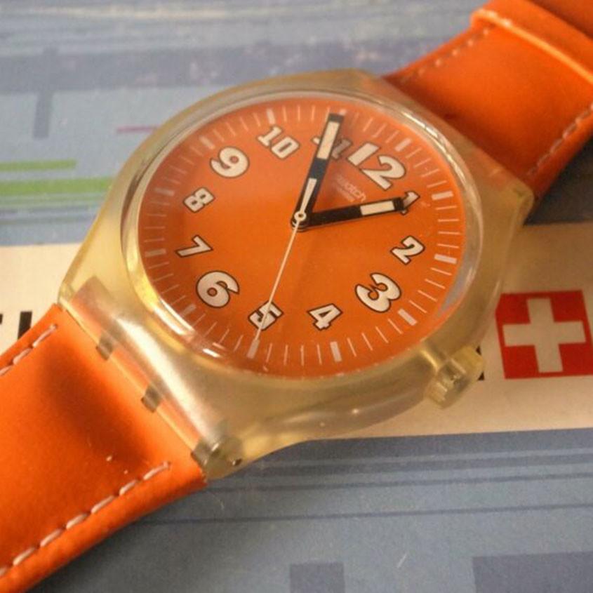 Foto verkleurd horloge