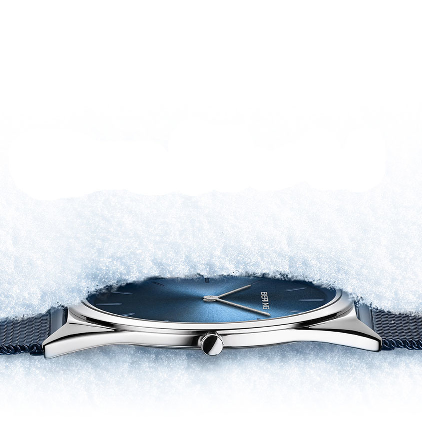 Foto Ultradun Bering horloge