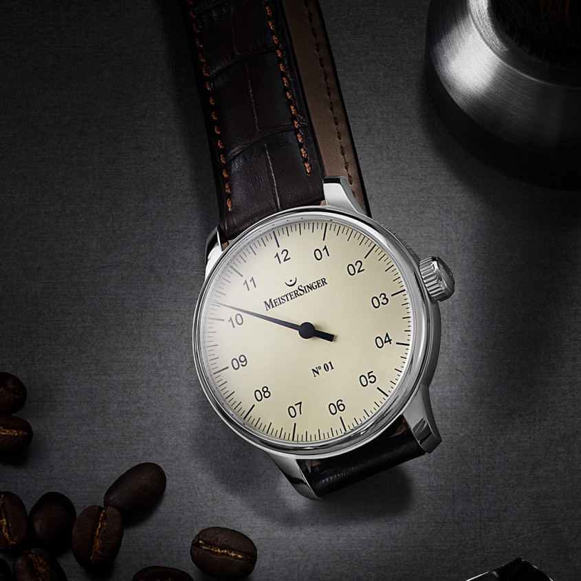 Foto Meistersinger No1 horloge