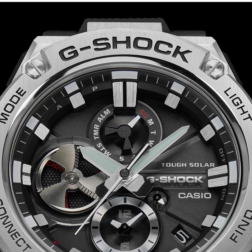 Afbeelding wijzerplaat GST-B100 horloge