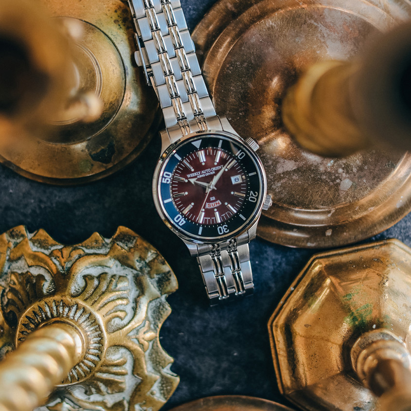 Foto Orient King Diver horloge