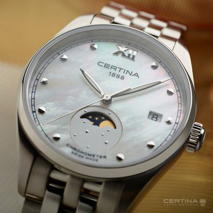 Certina DS 8 Maanfase horloge